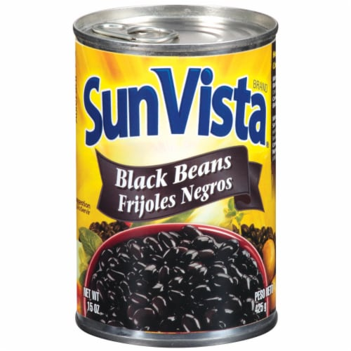 Sun Vista Black Beans Perspective: front