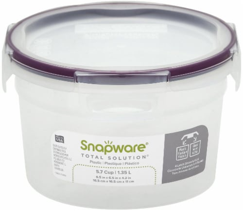 Snapware Total Solution Plastic Food Storage Perspective: front