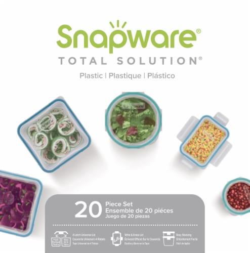 Snapware Plastic Set Perspective: front