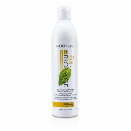 Matrix Biolage Smooththerapie Deep Smoothing Shampoo 16.9 oz Perspective: front