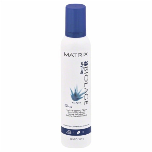 Matrix Biolage Hydro Foam Styler Perspective: front