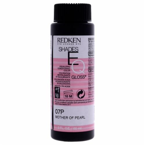 Shades EQ Color Gloss 07P - Mother Of Pearl by Redken for Unisex - 2 oz Hair Color Perspective: front