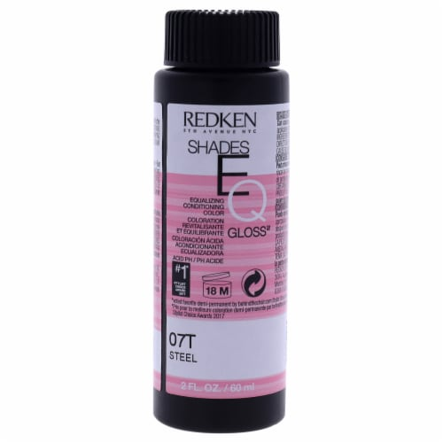 Shades EQ Color Gloss 07T - Steel by Redken for Unisex - 2 oz Hair Color Perspective: front