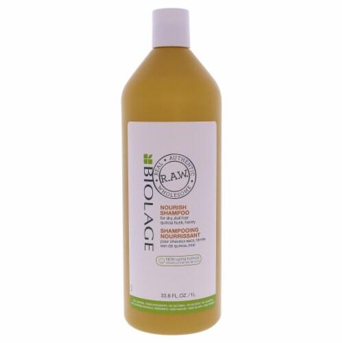 Biolage Raw Nourish Shampoo by Matrix for Unisex - 33.8 oz Shampoo Perspective: front