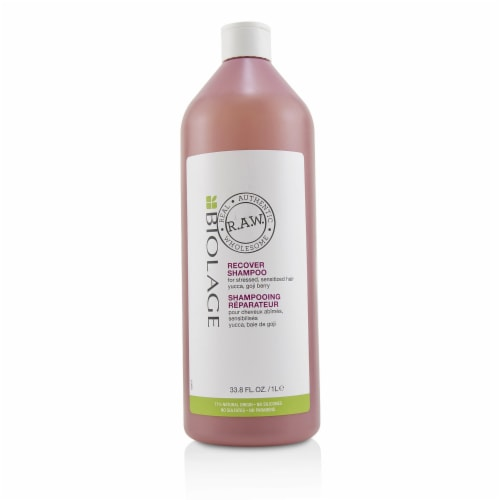Matrix Biolage R.A.W. Recover Shampoo (For Stressed, Sensitized Hair) 1000ml/33.8oz Perspective: front