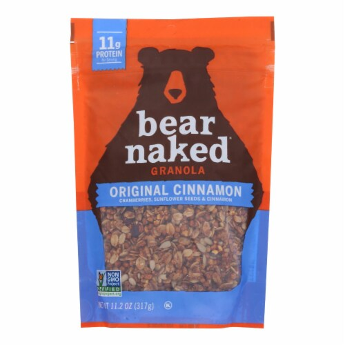 Bear Naked Original Cinnamon Protein Granola Perspective: front