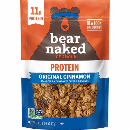 Bear Naked Original Cinnamon Granola Perspective: front