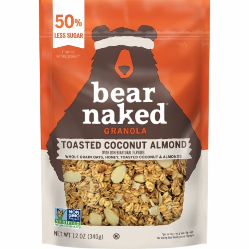 Bear Naked Toasted Coconut Almond Granola Perspective: front