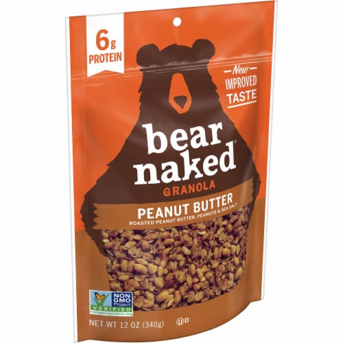 Bear Naked Peanut Butter Granola Perspective: front