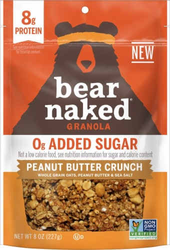 Bear Naked Peanut Butter Crunch Granola Perspective: front