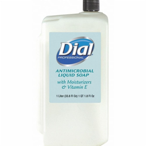 Dial Liquid Hand Soap,1000mL,Floral,PK8  84029 Perspective: front