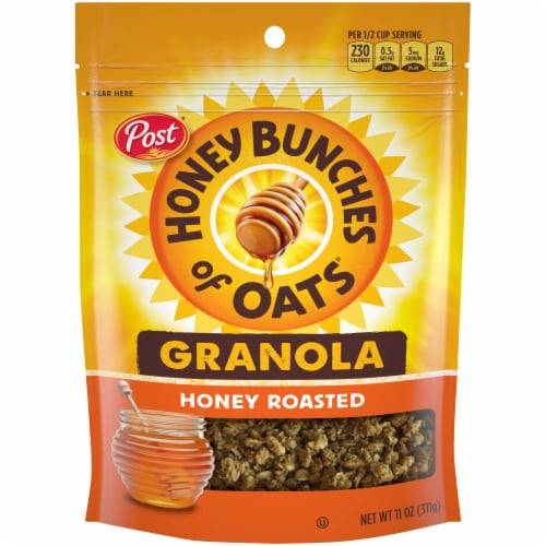 Honey Bunches of Oats Honey Roasted Granola Perspective: front