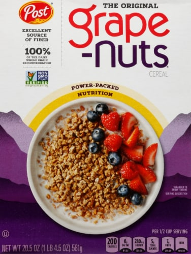 Post The Original Grape-Nuts Cereal Perspective: front