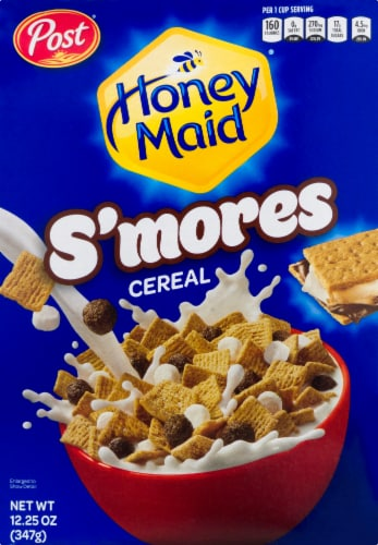 Post Honey Maid S'mores Cereal Perspective: front