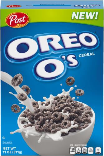 Post Oreo O's Cereal Perspective: front