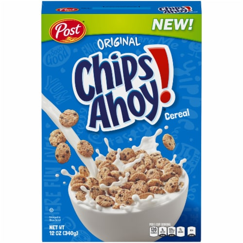 Post Original Chips Ahoy! Cereal Perspective: front