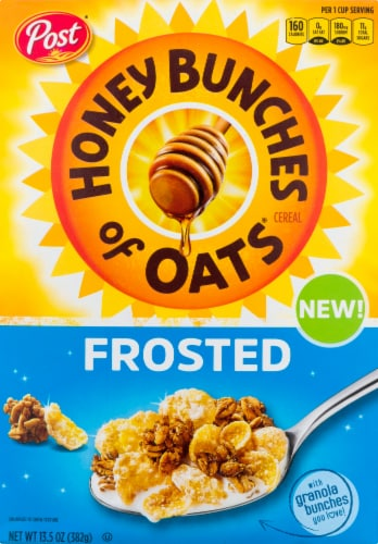 Honey Bunches of Oats Frosted Cereal Perspective: front