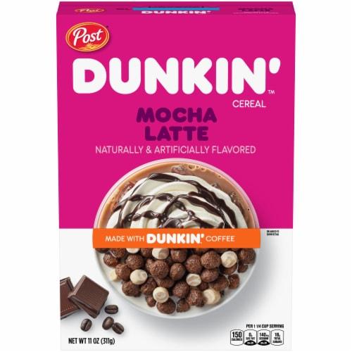 Dunkin' Mocha Latte Cereal Perspective: front