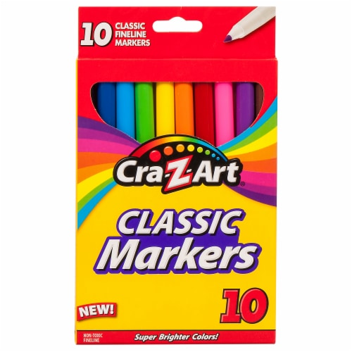 CRA-Z-ART Classic Fineline Markers Perspective: front
