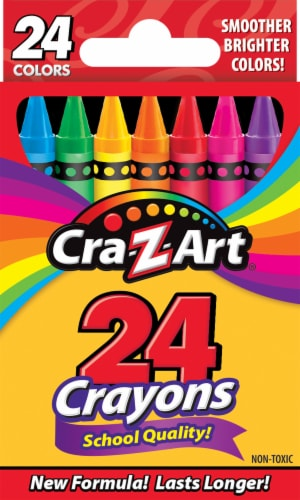 Cra-Z-Art Crayons 24 Pack Perspective: front