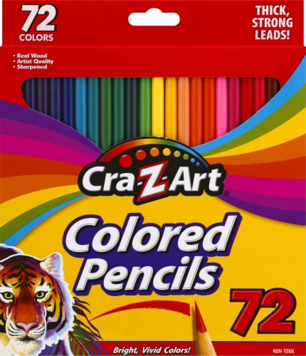 Cra-Z-Art Pre-Sharpened Colored Pencil Set 72 Pack Perspective: front