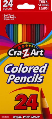 CRA-Z-ART Sharpened Colored Pencils Perspective: front