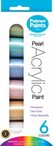 CRA-Z-ART Palmer Paints Pearl Acrylic Paint Set Perspective: front