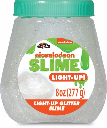 CRA-Z-ART Nickelodeon Light-Up Glitter Slime Perspective: front