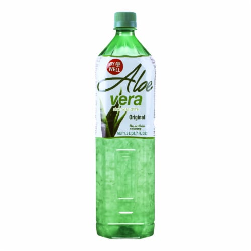 Bywell Original Aloe Vera Drink Perspective: front