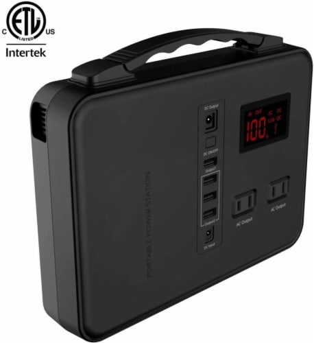 Alpha Digital Power Station, 150Wh, Emergency Backup Lithium Battery with A/C & USB charging Perspective: front