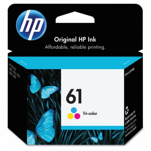 HP 61 Ink Cartridge - Tri-Color Perspective: front