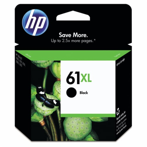 HP 61XL Ink Cartridge - Black Perspective: front
