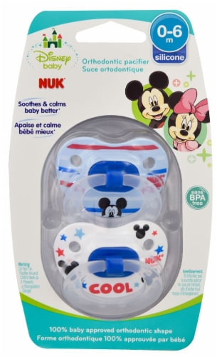 Months Minnie Mouse Pink  Pacifier Disney Baby BPA Free 0-