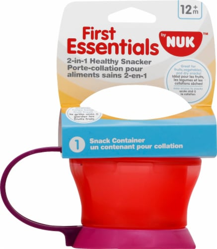 NUK Two-in-One Healthy Snacker Cup Perspective: front
