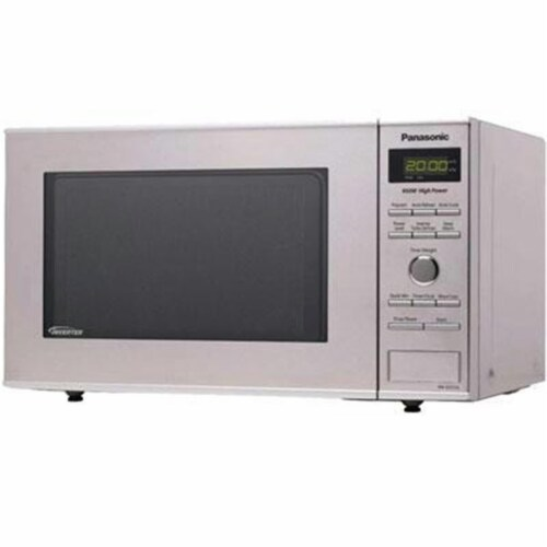 Panasonic NN-SD372S .8cf Microwave Inverter Ss Perspective: front