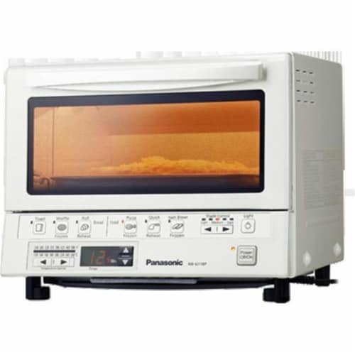 Panasonic Consumer PAN-NB-G110PW Flash Xpress Toaster Oven Perspective: front