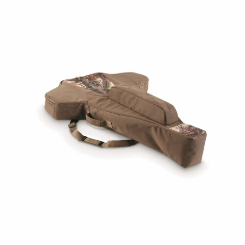Guide Gear AKT-SL508 Deluxe Soft Sided Waterproof Padded Universal Crossbow Case Perspective: front