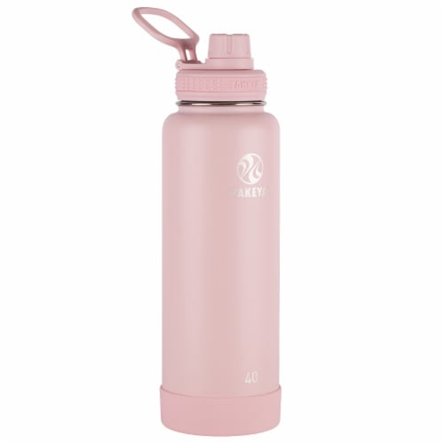 Takeya Actives Insulated Bottle - Blush Perspective: front