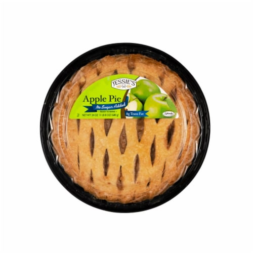 Jessie Lord No Sugar Added Apple Pie Perspective: front