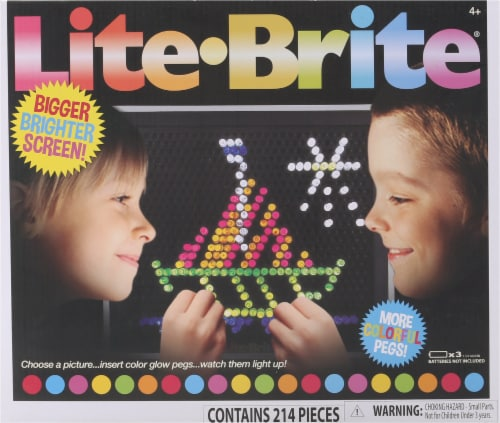 Lite Brite Magic Screen Light Toy Perspective: front