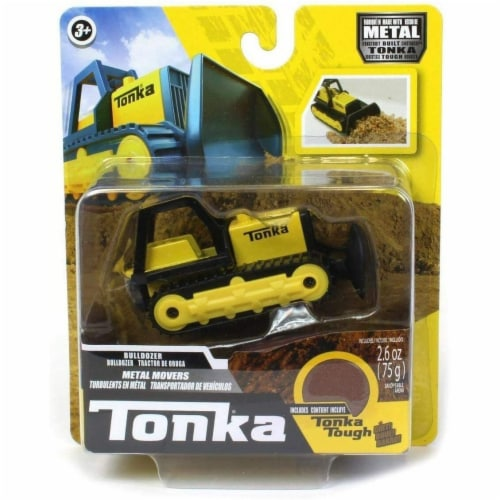 Tonka Metal Mover Single Pack Dump Truck # 6046 Perspective: front