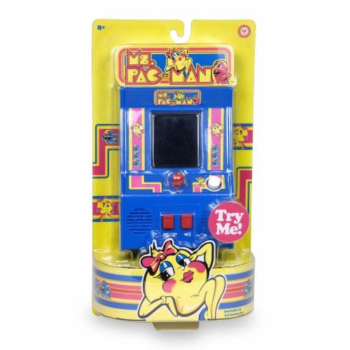 Arcade Classics Ms. Pacman Mini Arcade Game Perspective: front