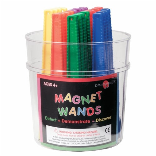 Dowling Magnets 583116 Frey Scientific Magnetic Wands - Pack of 24 Perspective: front