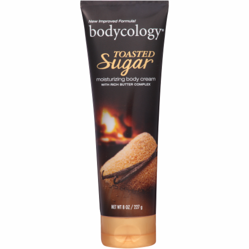 Bodycology Toasted Vanilla Sugar Body Cream Perspective: front