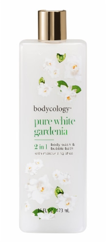 Bodycology Pure White Gardenia Body Wash & Bubble Bath Perspective: front