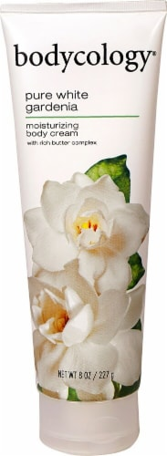 Bodycology Pure White Gardenia Body Cream Perspective: front