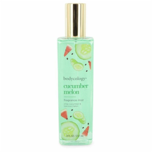 Bodycology Cucumber Melon by Bodycology Fragrance Mist 8 oz Perspective: front