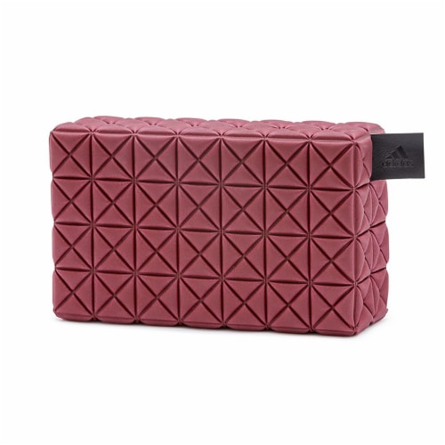 Adidas Lightweight Foam Soft Eco Yoga Block Exercise Workout Equipment Accessory Perspective: front