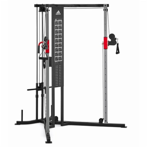 Adidas Sports Rig Versatile Strength Trainer Home Gym Exercise Equipment Machine Perspective: front