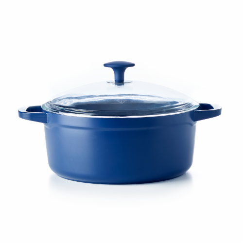 Blue Diamond 4.6 Quart Non-Stick Ceramic Dutch Oven Perspective: front